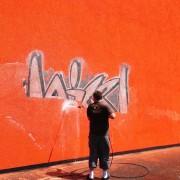 Odstranění graffity vysokotlakou vodou Praha