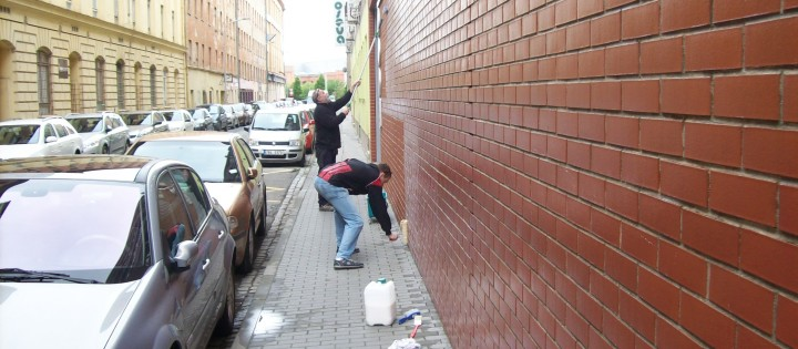 Aplikace antigraffitového nátěru v Praze