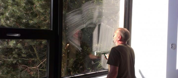 Mytí oken a aplikace nanoimpregnace Kuřim