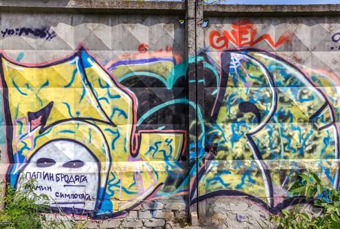 České Budějovice odstranění graffiti